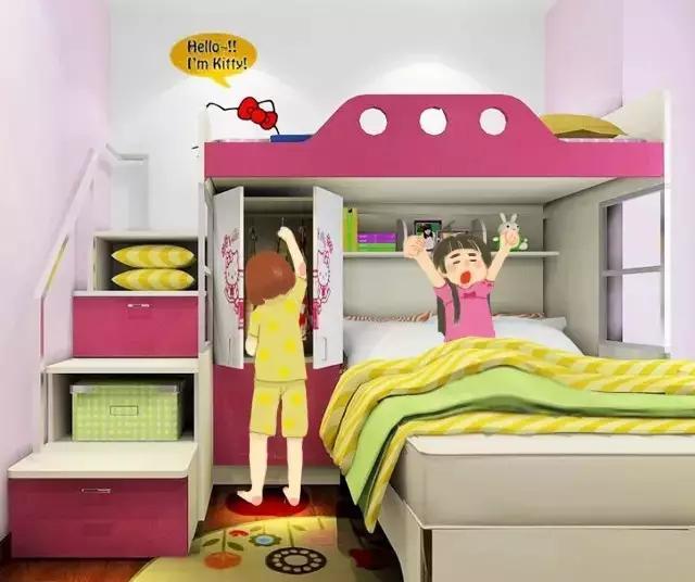 紧凑型儿童房设计 身为爸妈一定要看