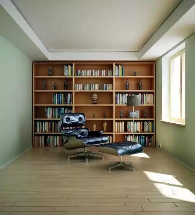 简欧书房设计 小户型也可以有