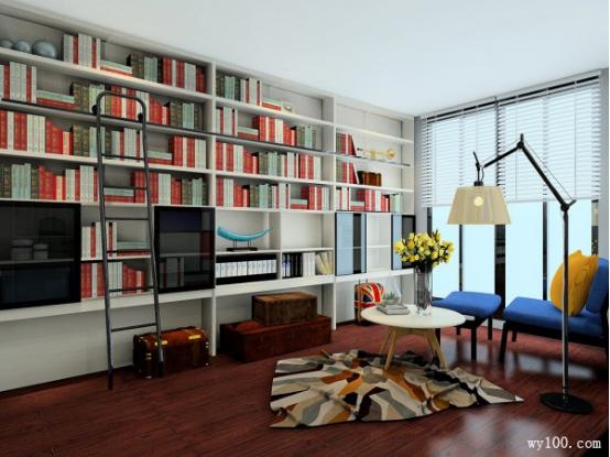 书房家具如何摆放最合适?书房风水必看