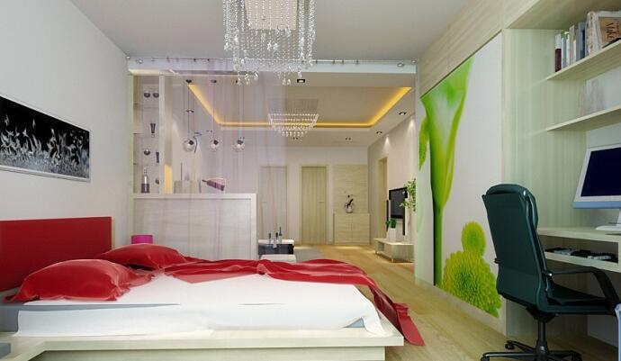 客厅卧室隔断设计 小空间的大智慧