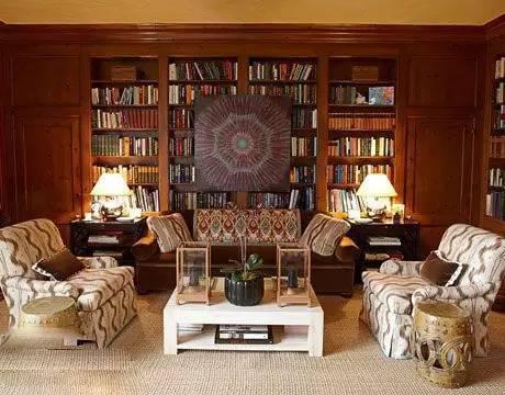 8款大师设计的典雅欧式书房