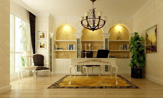 书房灯具搭配效果图片大全