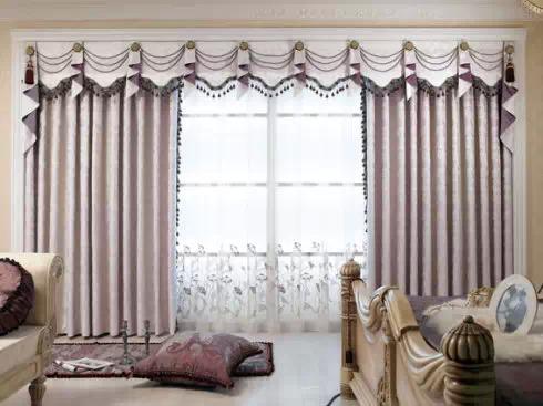 揭秘客厅的窗帘风水