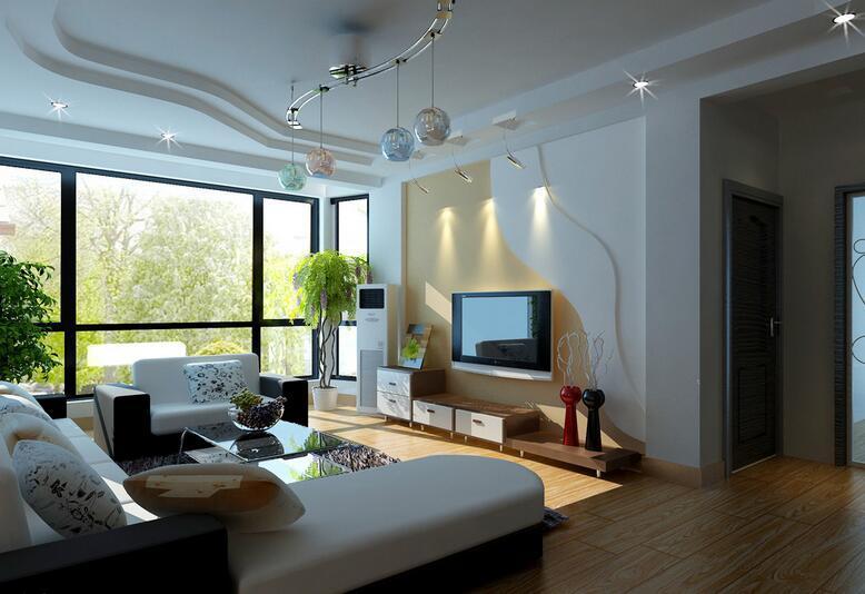 家装客厅吊顶设计示范 为你创造灵感