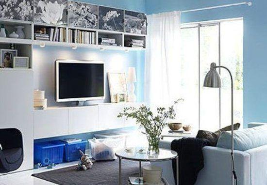 多款小户型客厅装修设计之小客厅的收纳