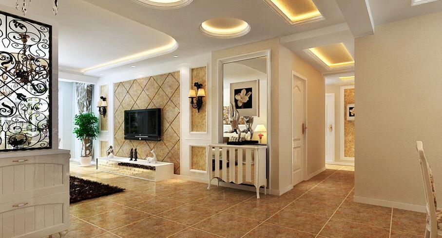 4款客厅吊顶设计风格 启发你的装修灵感
