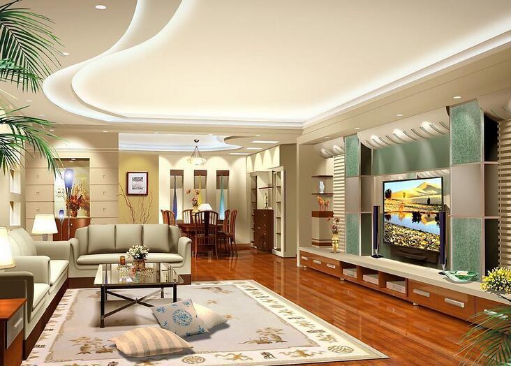 客厅隔断吊顶 丰富你的设计