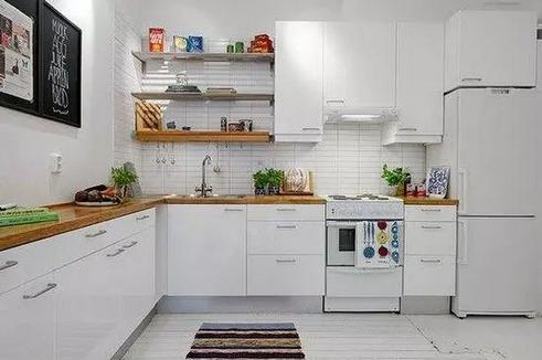 现代简约风格小户型厨房装修注意事项