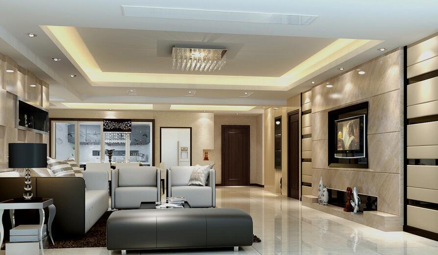 如何装修客厅走廊吊顶
