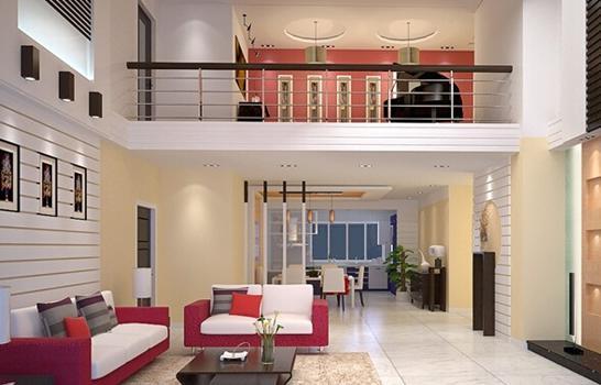 复式楼客厅怎么装修?