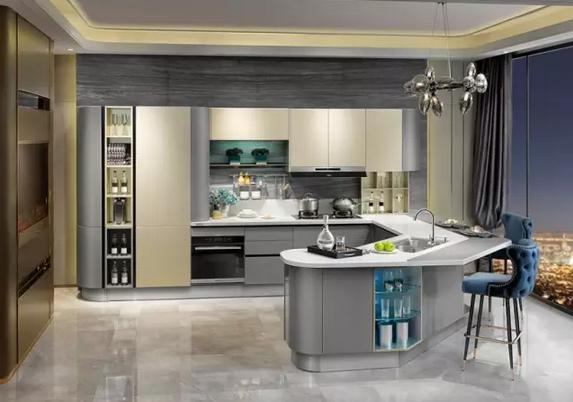 开放式厨房吧台有什么作用以及设计应注意什么