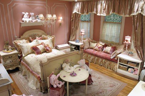 12款卧室装修效果图 专为少女设计