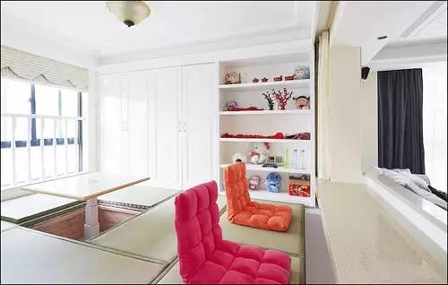 116�O简欧婚房 超级榻榻米式书房设计是亮点
