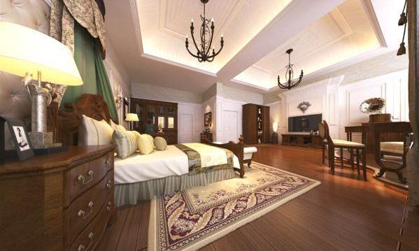 大卧室装修效果图尽现奢华品质