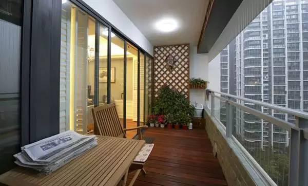富有创意的生活阳台装修效果图