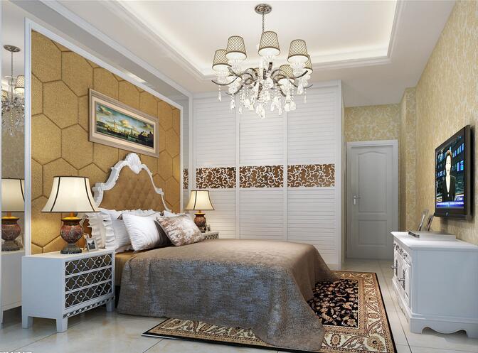 卧室床头挂画 风水与装饰两不误