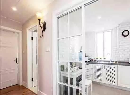 厨房玻璃隔断墙如何设计