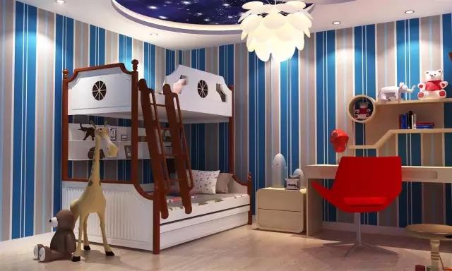 装下宝贝整个童年的小户型儿童房设计,空间瞬增N平方