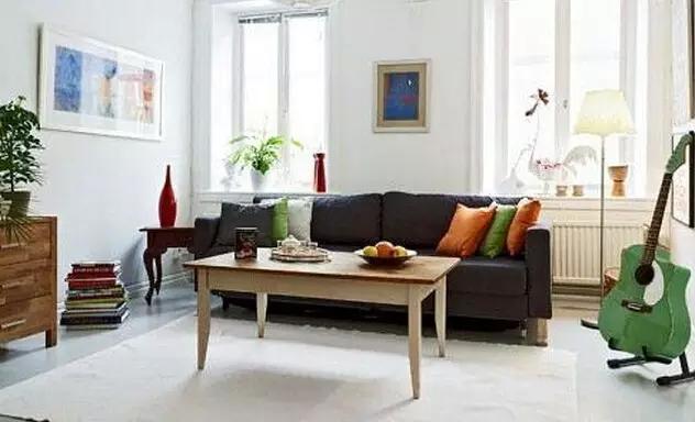 8款小户型北欧风格客厅装修样板间
