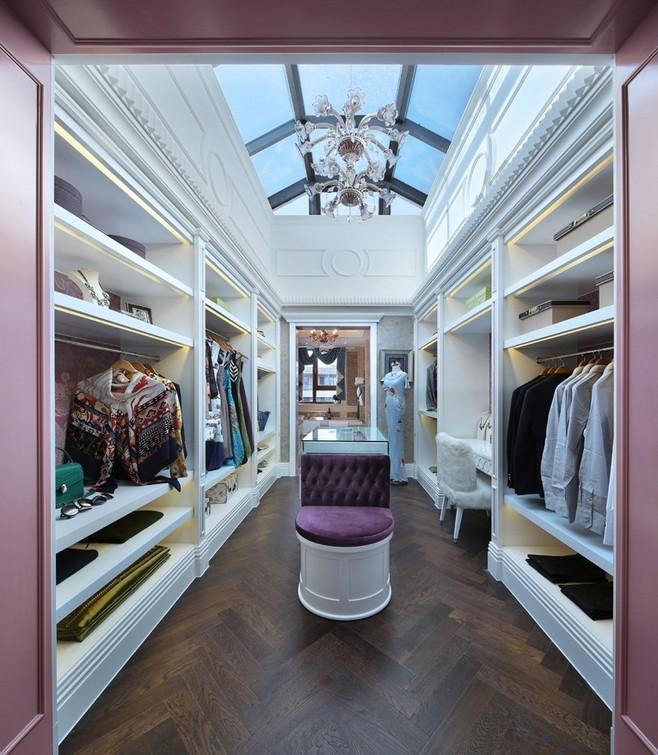 衣帽间整体衣柜这样设计,没有一个女人能抗拒