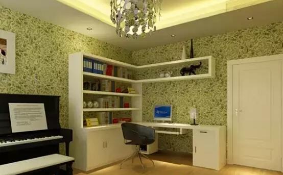 如何打造二合一简欧卧室与书房套间