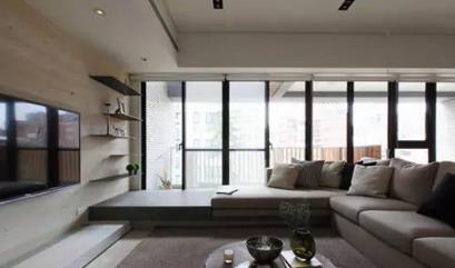 与众不同的客厅阳台隔断玻璃门,你见过没?