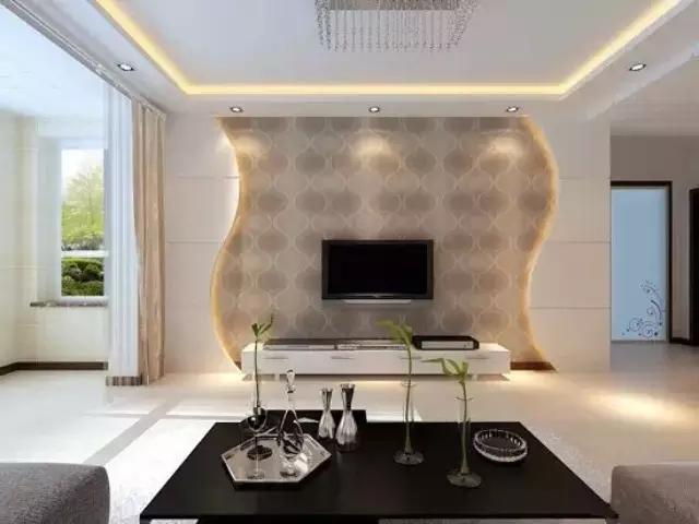 现代客厅装修效果图大全 超美!