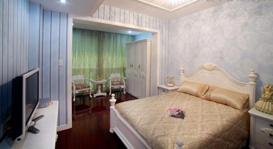 简欧卧室与书房套间,20万仅能打造四房二厅