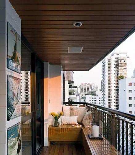 惬意阳台空间设计