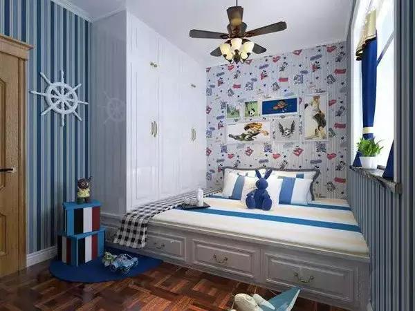最接地气的儿童房榻榻米装修效果图――给你的孩子一个童话世界!!!