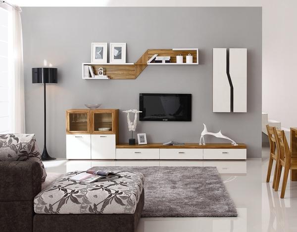家庭客厅电视背景墙怎样设计?