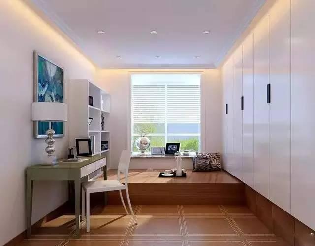 卧室和书房这样结合,完美利用空间