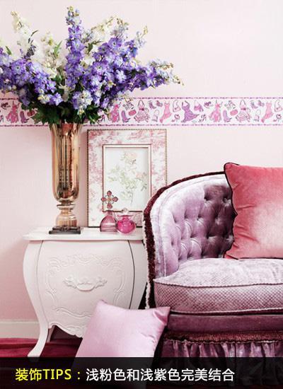 粉色卧室 卖萌清新更奢华