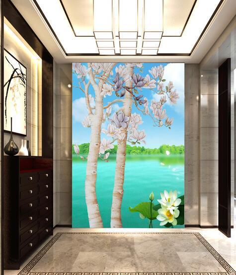 玄关装饰画 符合风水点缀整体设计
