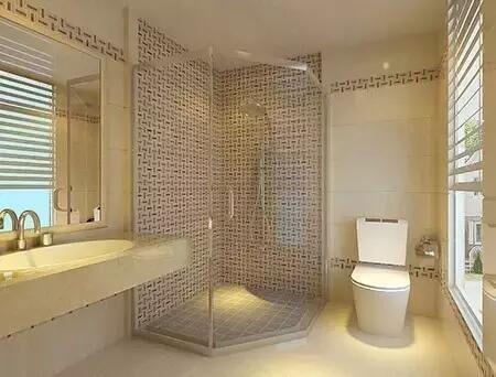 卫生间隔断间卫生间隔断墙图片2