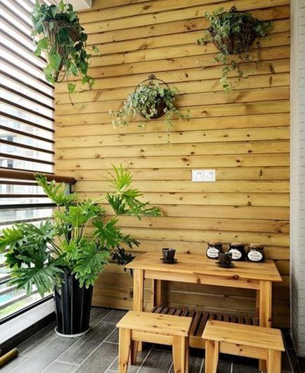 超实用的小户型阳台设计方案