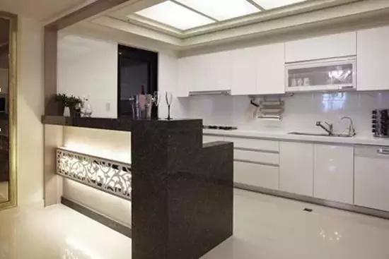 客厅厨房玻璃隔断,隔出好风水,财运滚滚来!
