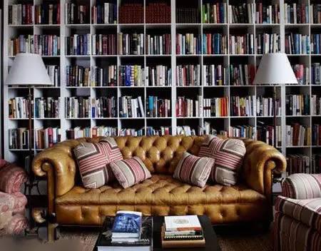 推荐6款大师设计的典雅欧式书房