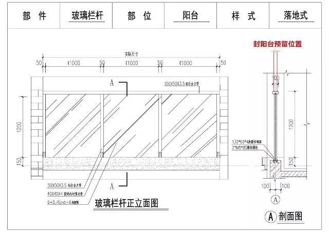 住宅阳台栏杆可以这样进行设计