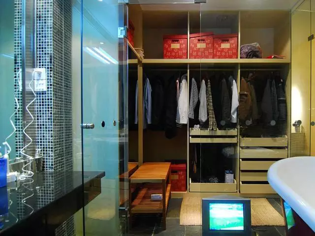 走入式衣帽间装修设计效果图,小户型也可以拥有