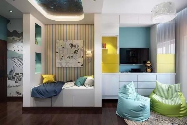 创意小户型儿童房设计与装修效果图 给你带来装修灵感