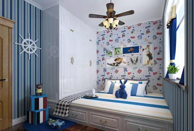 儿童房间榻榻米床  缺一不可