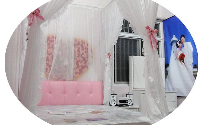 最浪漫的婚房卧室布置效果图片