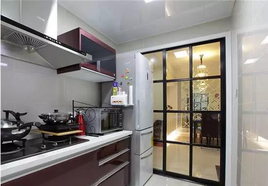 厨房推拉门设计参考     看了不后悔