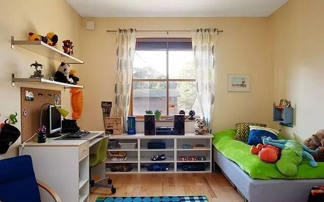 小户型儿童房,装出来也是一室温暖乐趣