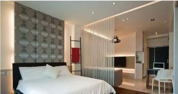 打造唯美新意的客厅和卧室隔断效果图,让家更美