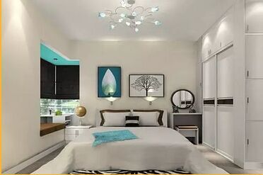 小卧室如何布置出大空间    请看效果图!