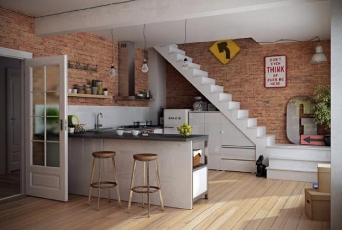 开放式厨房隔断设计攻略