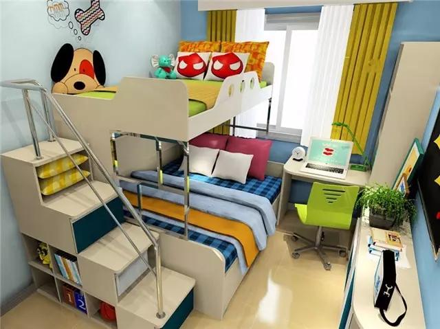 儿童房这样布置,才是对孩子负责