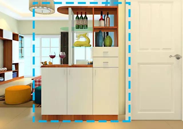 在客厅设计中,隔断柜才是功能最强大的!